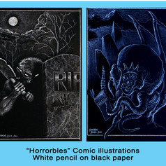 Horrorbles Comic Book