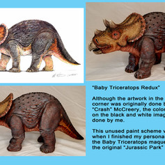 Jurassic Park Baby Triceratops