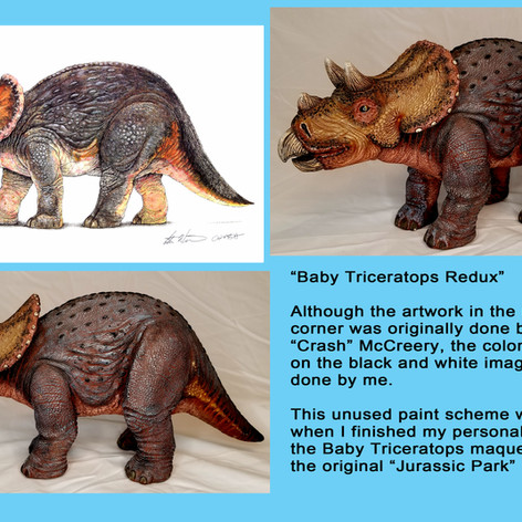 Jurassic Park Baby Triceratops