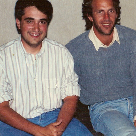 Kevin Costner and I