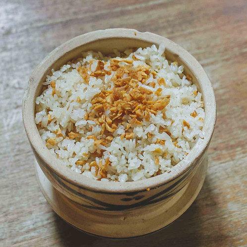 Cơm chiên tỏi/ Fried garlic rice