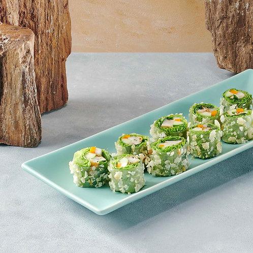 Gỏi cuốn chả cá thác lác/Fresh spring rolls with minced  sh and herbs