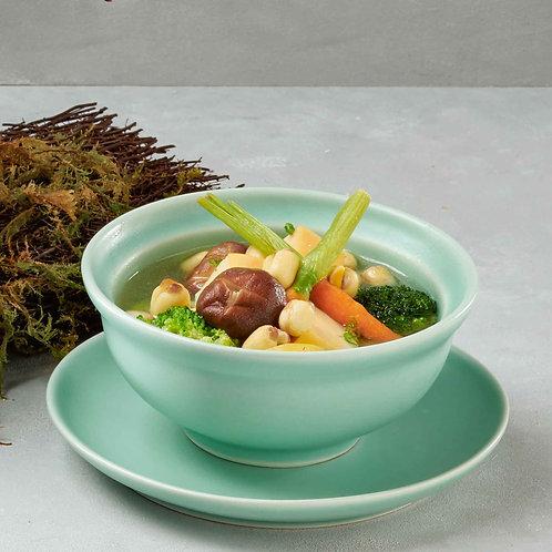 Canh rau củ thập cẩm chay/Mixed vegetables soup