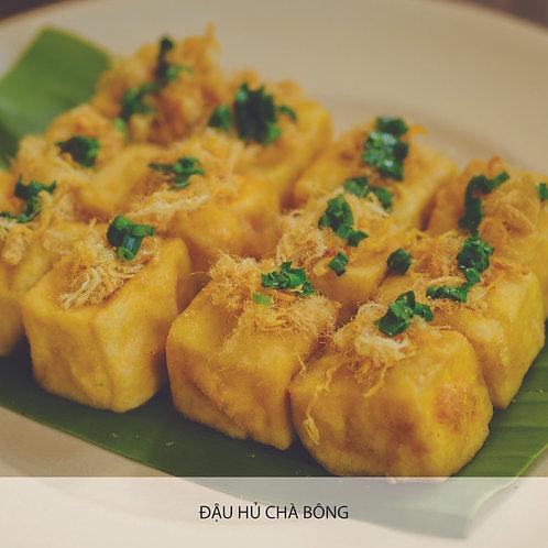 Tofu with pork floss