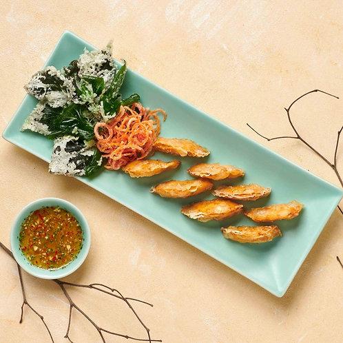 Chả cá Thác Lác chiên giòn/Deep fried minced fish