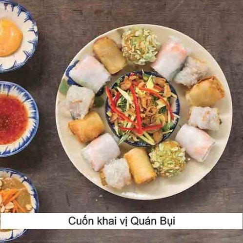 Quán Bụi mixed rolls