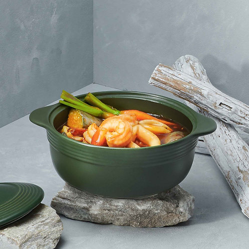 Tôm kho tộ / Braised prawns with caramelized sauce in clay pot