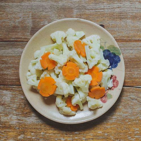 Bông cải trắng luộc/ Steamed Cauliflower