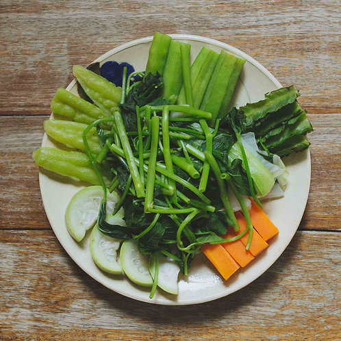 Rau thập cẩm luộc / Steamed Mixed vegetables