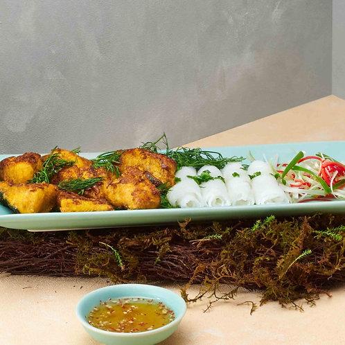 Chả cá Sài Gòn / Minced fish with dill