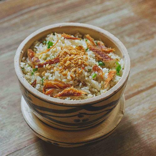 Cơm chiên cá mặn/ Fried rice with salted fish