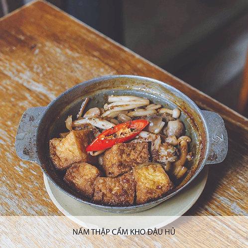 Braised mushroom with tofu