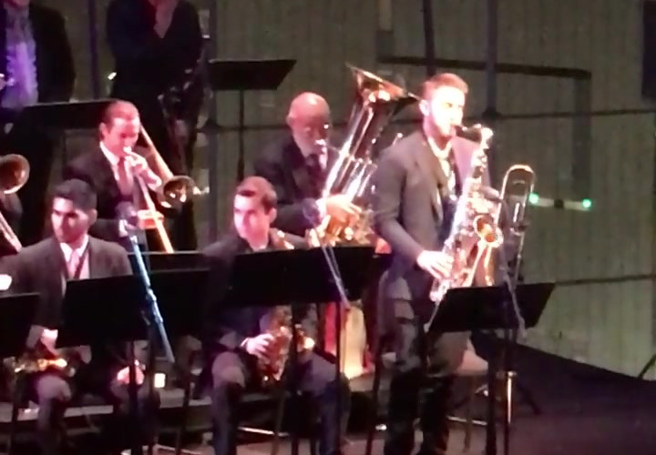 Gaby performs at Lincoln Center Jazz, 2018