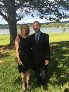 Wedding party with Maggie