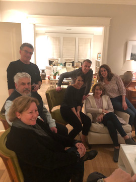 Pot luck w Steve Cash, Harold, Gayle Hager, Tim, and Deborah