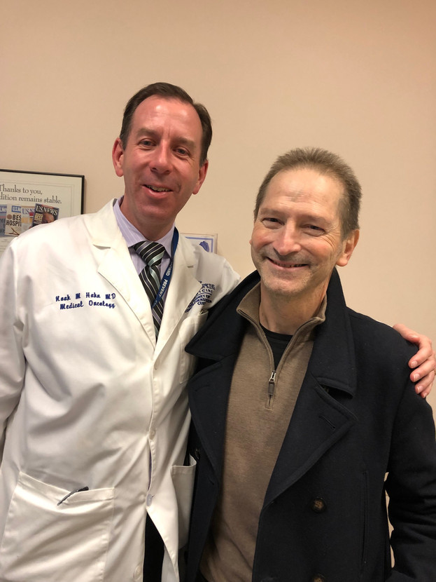 A brilliant, compassionate oncologist, Dr. Hahn. We are indebted to you.