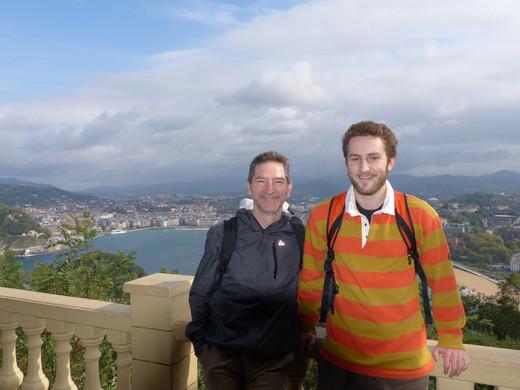 Spain w Gaby, junior year