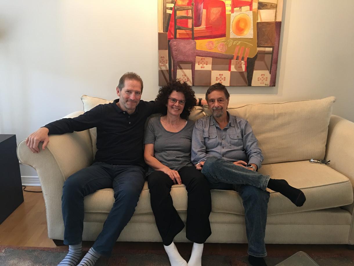 Visiting Fabio and Violetta Katz in Otta