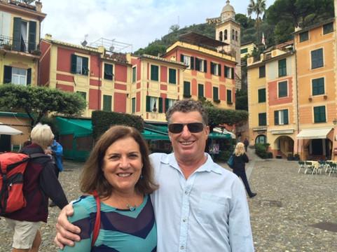 The best ever next door neighbors, Donna and Harold Gray