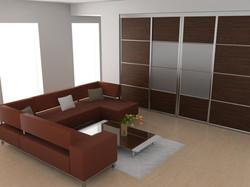 White wash hardwood floor