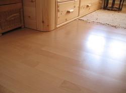 Installation of laminate flooring