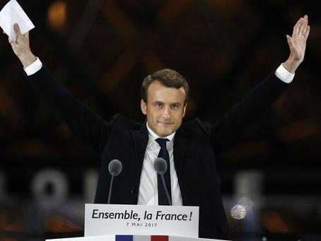 Wéi geet et weider mam Macron?