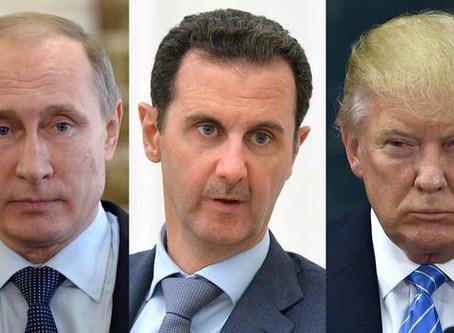 Syrien, USA, Russland - em wat geet et?