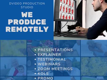 We Produce Remotely!