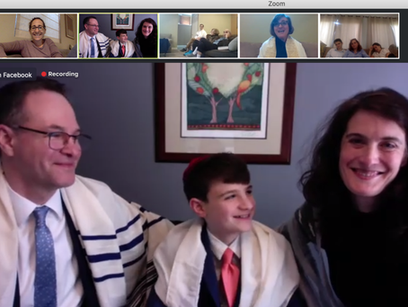 Zoom bar and bat mitzvahs offer meaning, connectivity during the pandemic