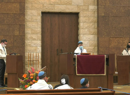 2020 Mitzvah Makeover - Celebrating Josh's Bar Mitzvah in the Age of COVID-19 with Live-Streaming.