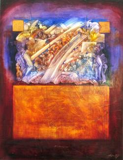 toile 130 x 100 2010