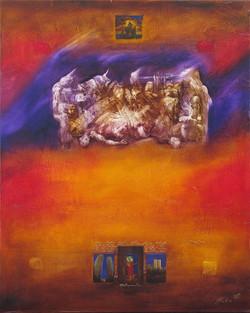 toile 81 x 65 2010