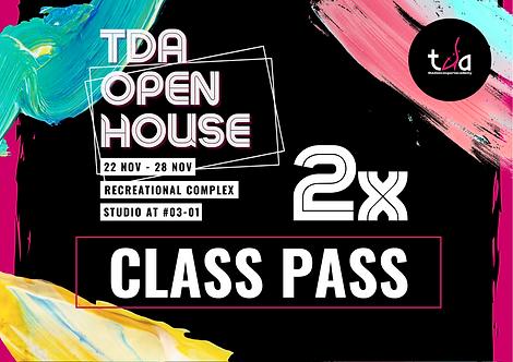 2x Open House Classes