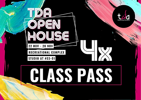 4x Open House Classes