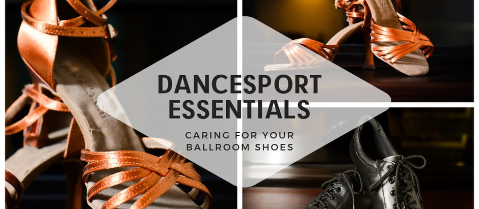 DanceSport Shoes: Keeping Clean & Odour-Free for Ballroom Dancing