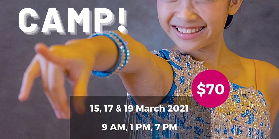 March Holiday Dance Camp!