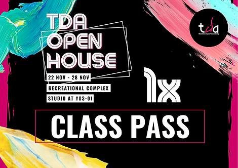 Open House Class