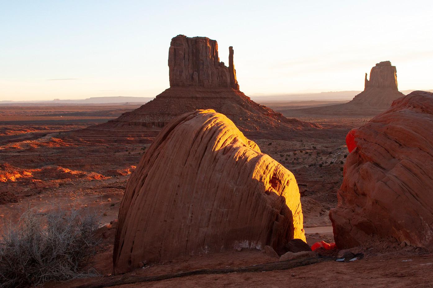 Monument Valley from Arizona, USA