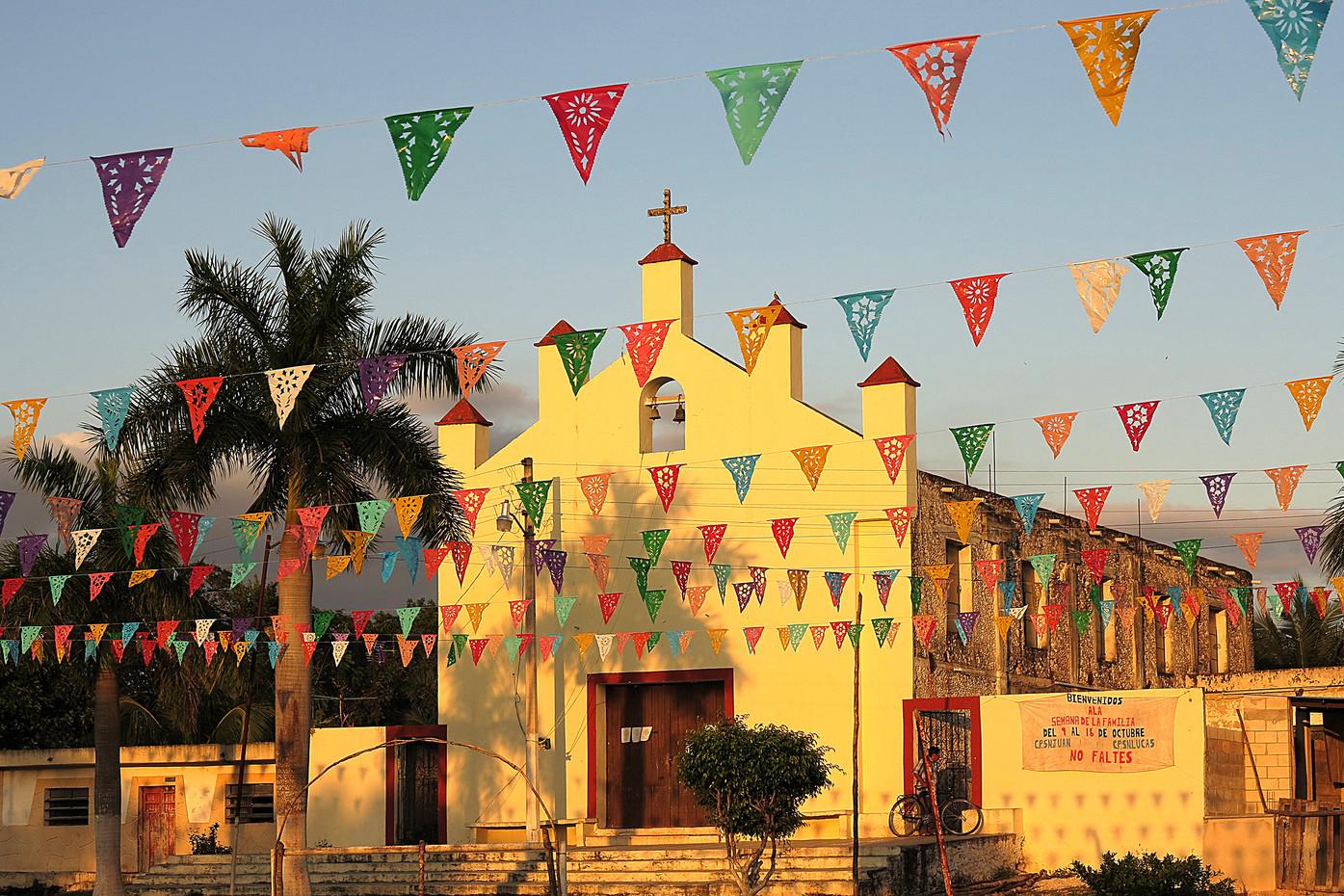 Church near Chichen Itza, Mexico