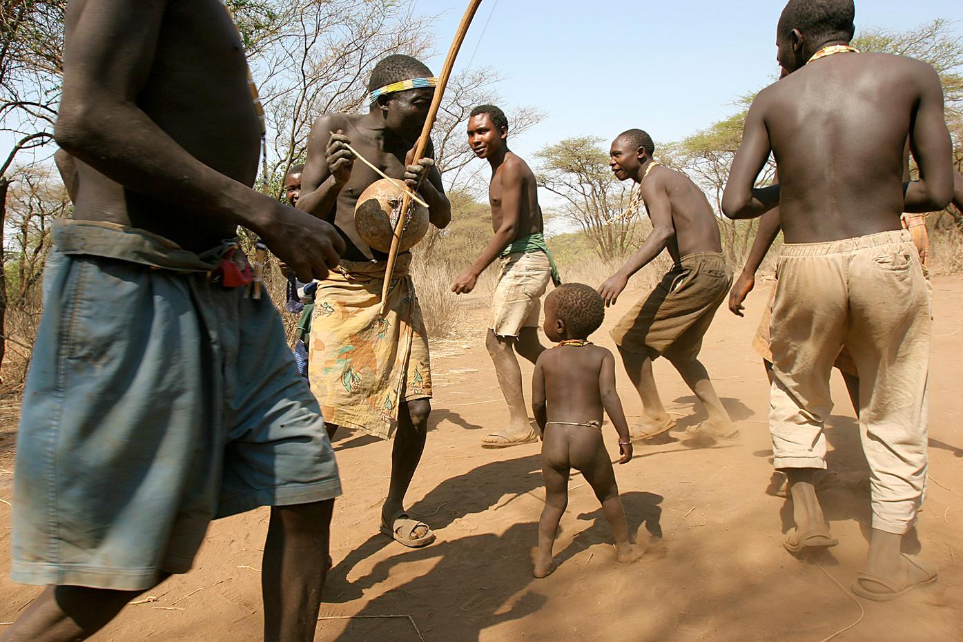 Hadza bushmen near Lake Eyasi, Tanzania