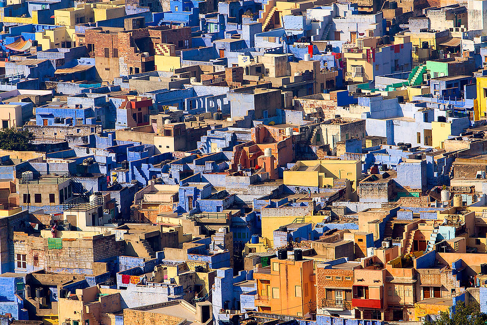 The blue city of Jodhpur, India.jpg