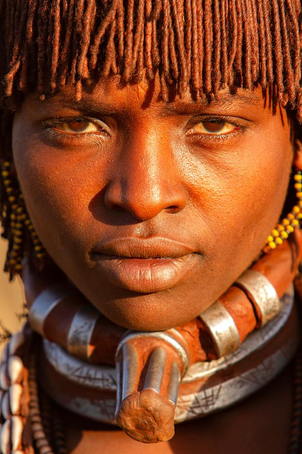 Hamer women near Turmi, Ethiopia