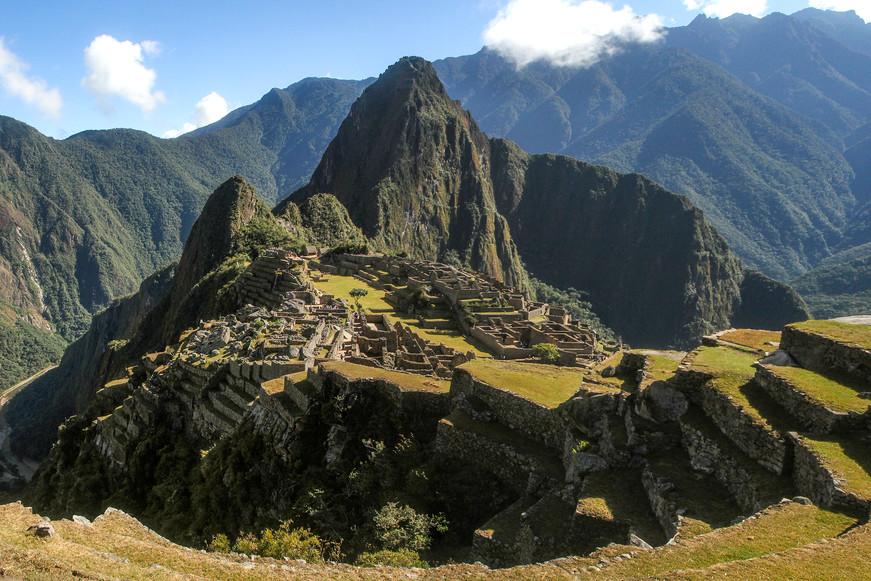 Machu Pichu Mayan ruins, Peru