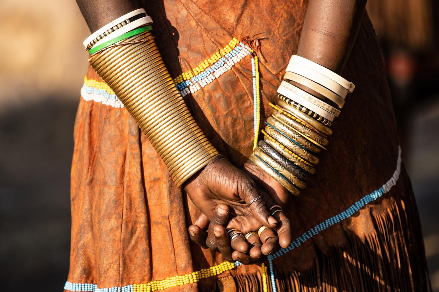 Datoga woman in Makao Village, Tanzania