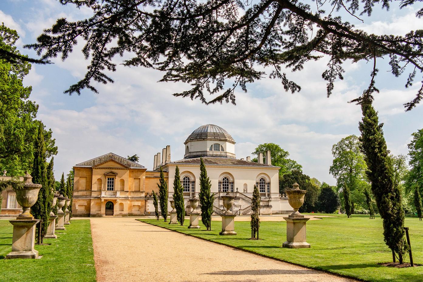Chiswick House & Gardens in London, UK