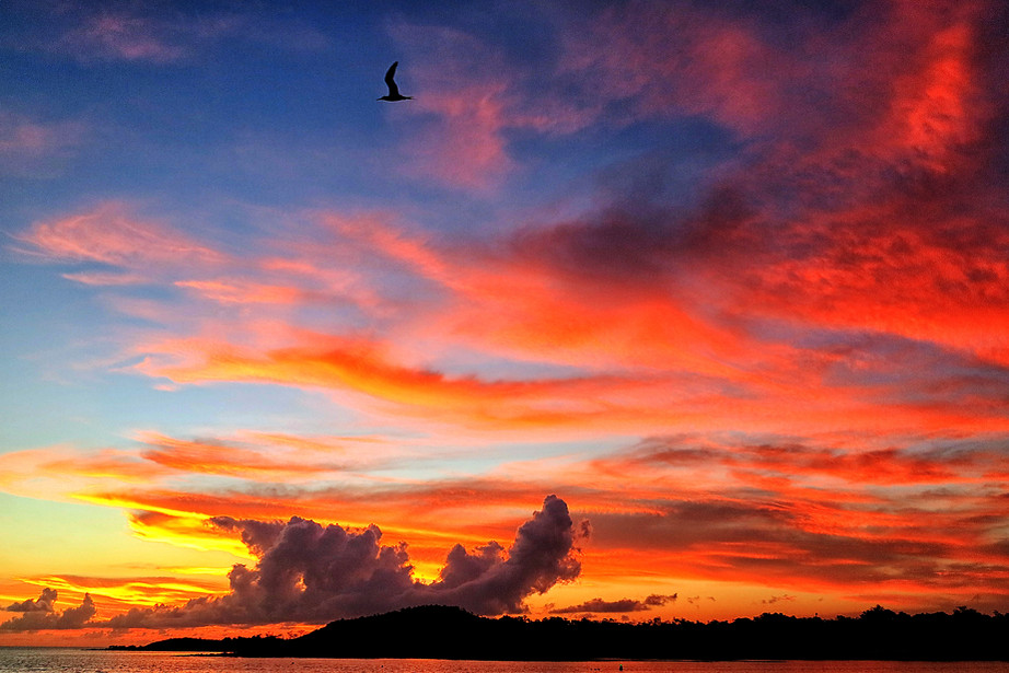 Sunset from Cape York Peninsula, Australia