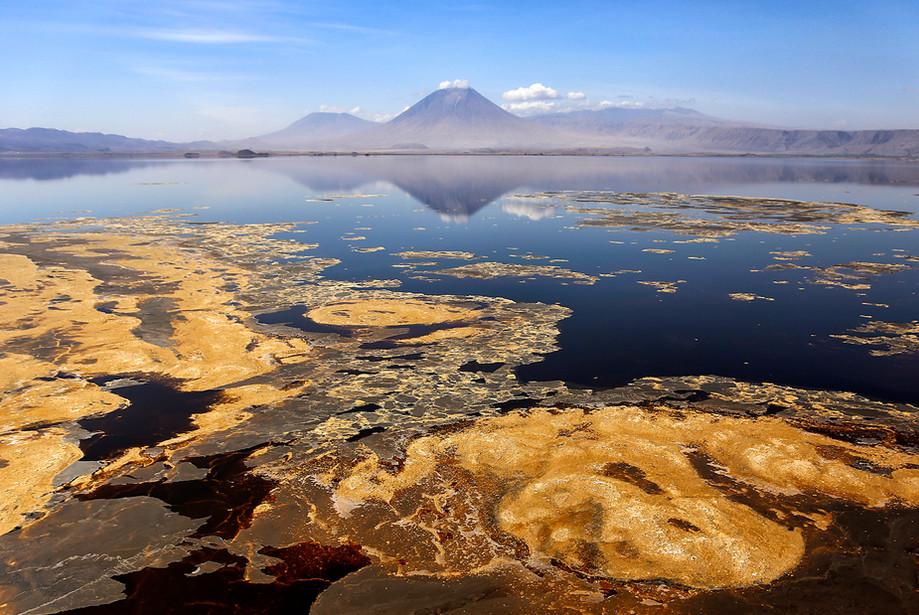 Lake Natron & Oldonyo Lengai active volcano, Tanzania