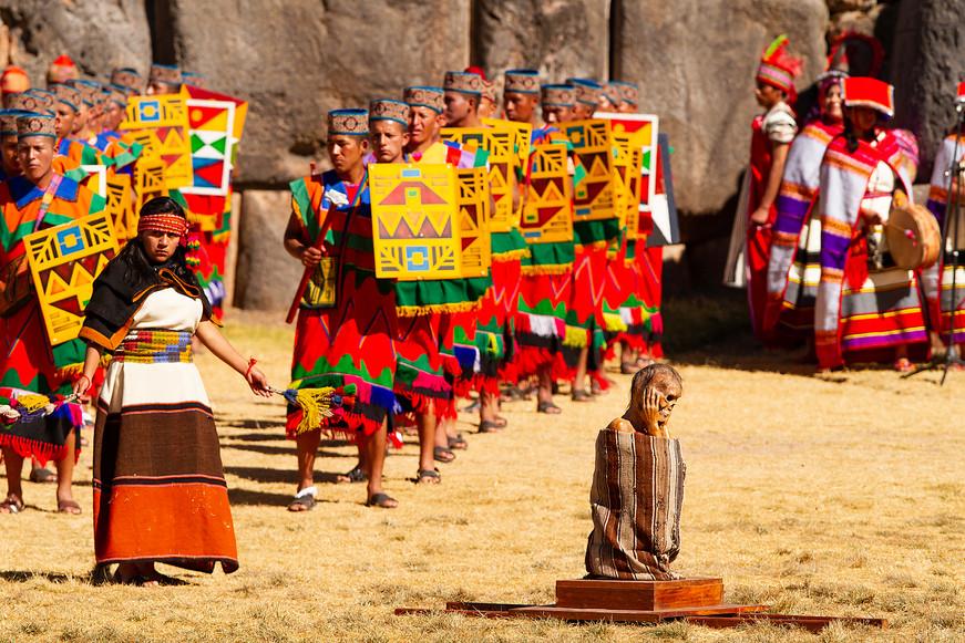 Inti Raymi Festival of The Sun in Cuzco, Peru