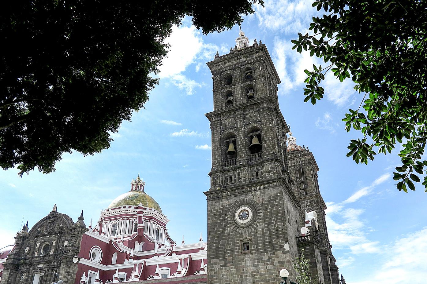 Church of Santo Domingo in Puebla City, Mexico