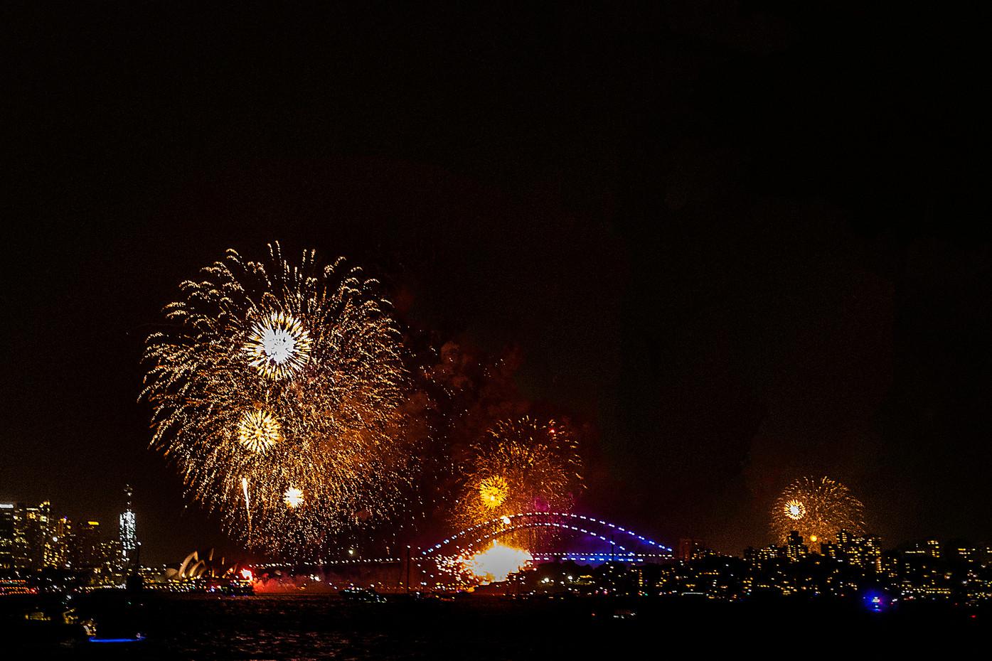 Sydney Harbour New Years Eve 2019, Australia